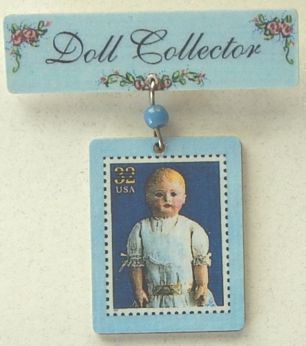 doll collector postage stamp limted edition