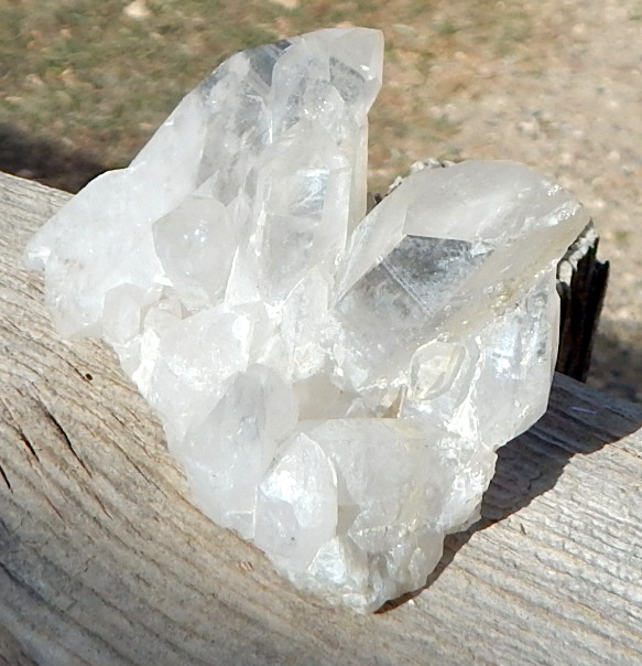 Arkansas diamond clusers - quartz crystals