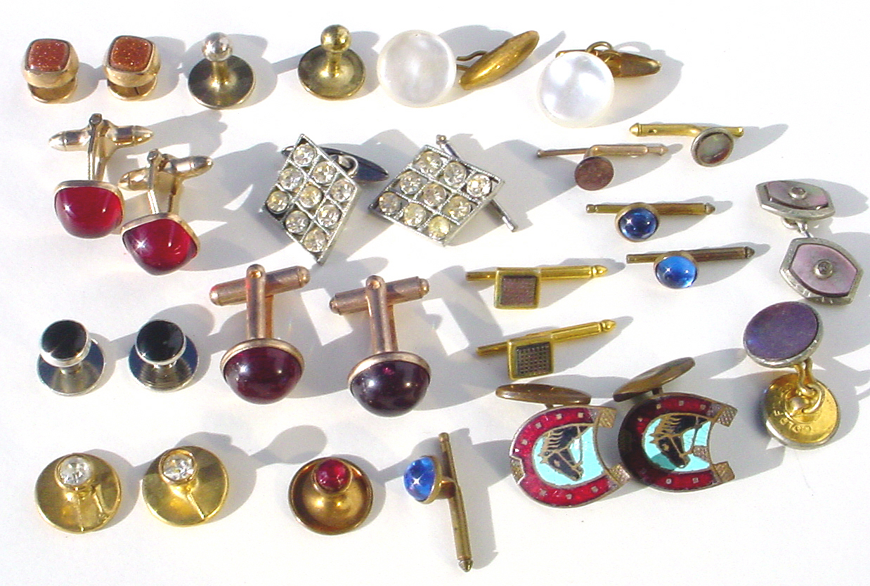 cuff links lot