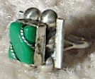 Item #507 Mexican silver ring